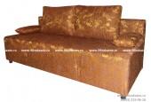 Диван ЕК-8 гобелен коричневый