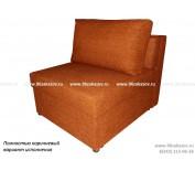 Кресло кровать ЕК-7 Астра коричневая
