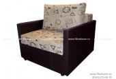 Кресло-кровать ЕК-7 (с подлокотниками)  гобелен бежевый