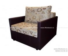 Кресло-кровать ЕК-72 (с подлокотниками)  гобелен бежевый