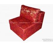 Кресло-кровать ЕК-7 гобелен бордовый