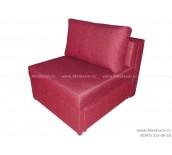Кресло-кровать ЕК-7 шенилл бордовый