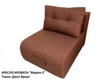 """Кресло-кровать """"Мария-2"""" Ткань: Джут Браун (корич.)"""