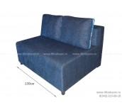 Евро-канапе ЕК-9 (120см) шенилл синий