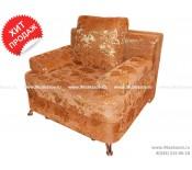 Кресло-кровать ЕК-4 гобелен коричнево-рыжий