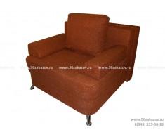 Кресло кровать ЕК-4 Астра коричневая