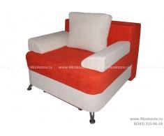 Кресло-кровать ЕК-4 Астра рыже-белая